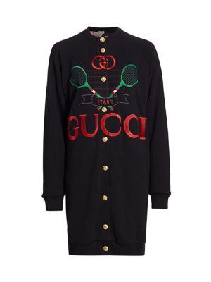 Heavy Felted Jersey Gucci Reversible Sweatshirt
