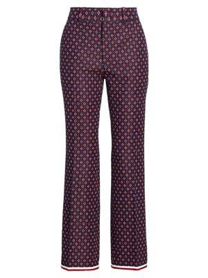 Geometric G Iconic Boot Cut Trousers