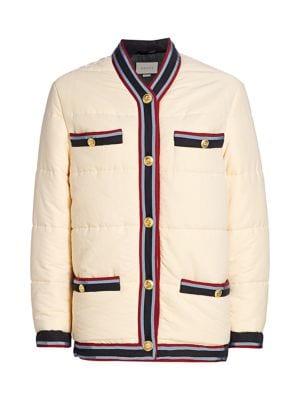 Washed Puffer Jacket