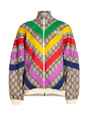 Technical Jersey GG Rainbow Track Jacket