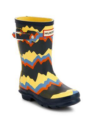 Kid's Original Big Storm Stripe Rain Boots