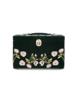 Large Zoe Velvet Jewelry Box