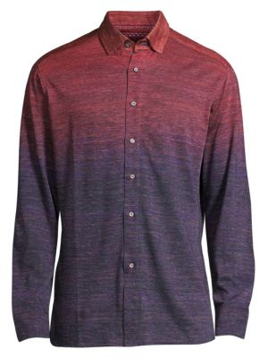 Curtiz Ombré Button Front Shirt