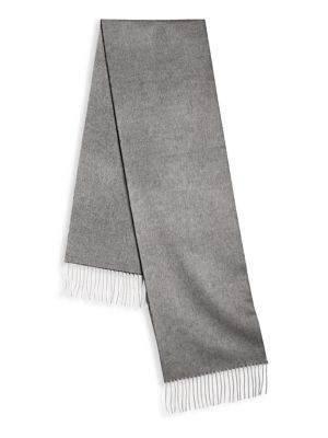 Double-Faced Silk & Cashmere Scarf