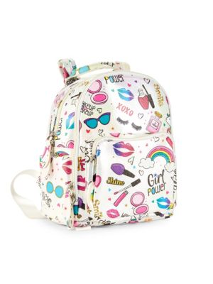Glam Graphic Print Backpack