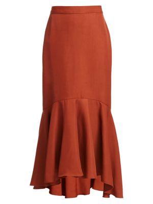 Protagonista De Hist High-Low Midi Skirt