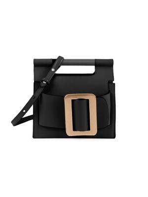 BOYY | Romeo Leather Crossbar Top Handle Bag | Goxip