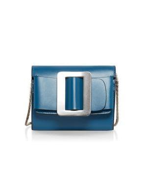 Buckle Leather Wallet-On-Chain