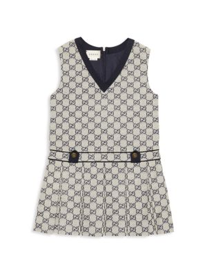 Little Girl's & Girl's Sleeveless Dress