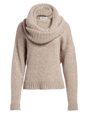 Merino Wool Donut Knit Sweater