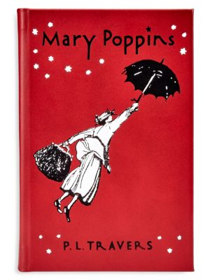 Mary Poppins Bound Leather Book