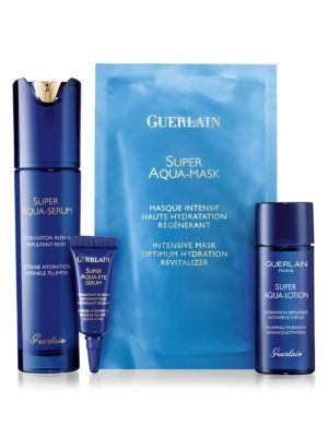 Super Aqua Serum 4-Piece Set