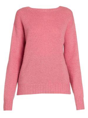 PRADA | Cashmere Melange Crewneck Sweater | Goxip
