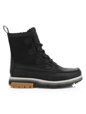 Caribou Atlis Shearling-Lined Waterproof Leather Boots