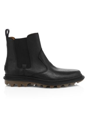Ace Waterproof Leather Chelsea Boots
