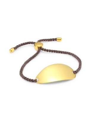Nura 18K Yellow Goldplated Friendship Bracelet