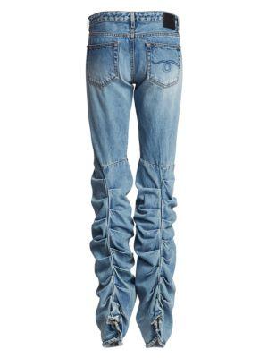 Shirred Boy Bootcut Jeans