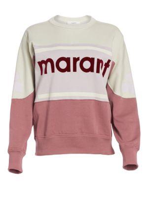 ISABEL MARANT ÉTOILE | Gallian Colorblock Sweatshirt | Goxip