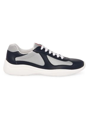 America's Cup Leather & Technical Fabric Sneakers