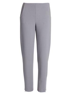 Stretch Wool-Blend Pants