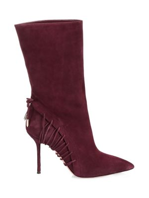 All Mine Lace-Up Suede Boots