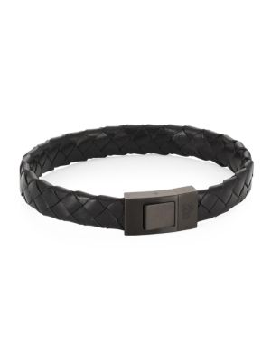 COLLECTION Woven Leather Bracelet