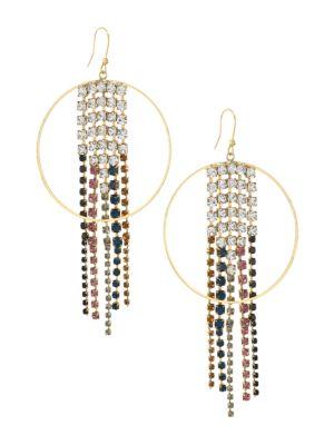 Multicolor Crystal Sublime Chandelier Earrings