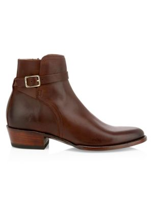Grady Leather Ankle Boots