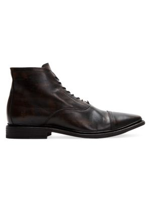 Paul Lace-Up Leather Boots