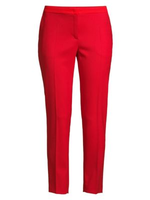Talass Stretch-Wool Ankle Pants