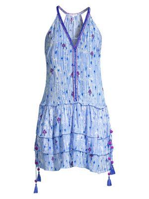 Betty Ruffle Mini Dress