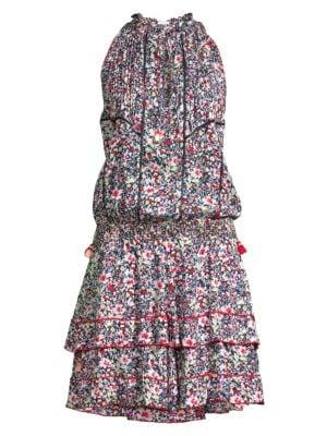 Amora Ruffle-Trimmed Dress