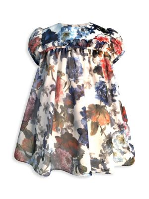 Baby Girl's Floral Chiffon Dress