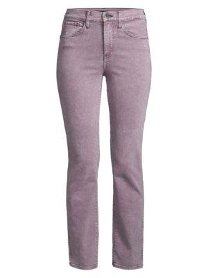 Stevie Mid-Rise Straight-Leg Jeans
