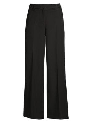 OPENING CEREMONY | Side-Slit Wide-Leg Pants | Goxip