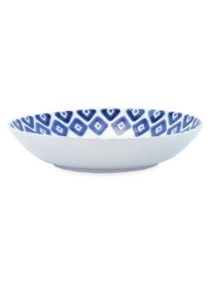 Viva Santorini Medium Ceramic Serving Bowl