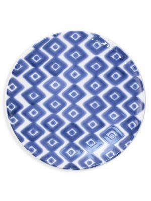 Viva Santorini Diamond Salad Plate