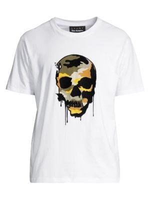 Skull Graphic Print T-Shirt