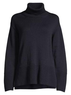 PIAZZA SEMPIONE | Virgin Wool Turtleneck Sweater | Goxip