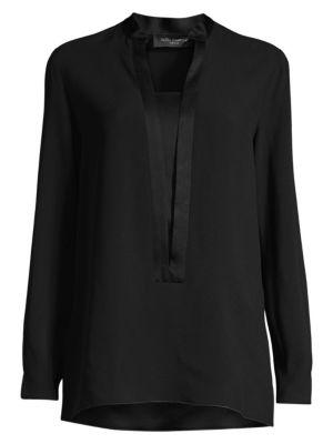 PIAZZA SEMPIONE | Mandarin Collar Tunic | Goxip