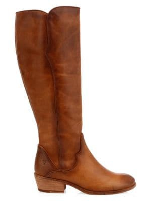 Carson Knee-High Leather Riding Boots
