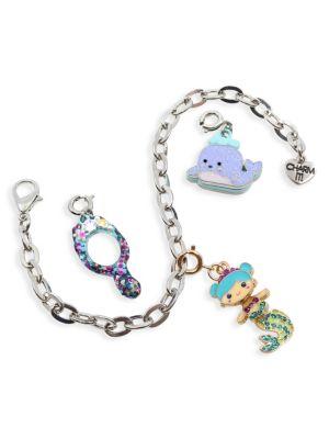 Mermaid Charm Bracelet Set