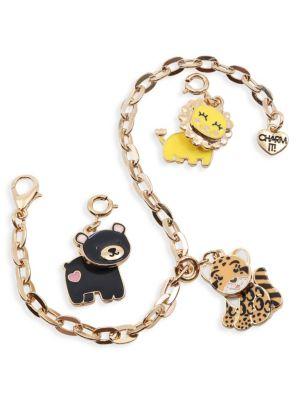 Animal Charm Bracelet Set