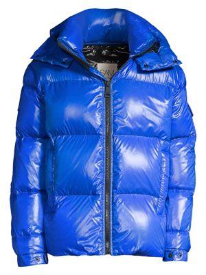Vortex Nylon Down Puffer Jacket