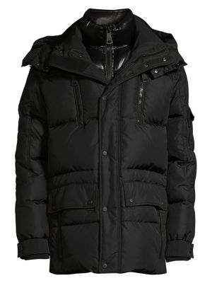 Element Quilted Nylon Down Jacket