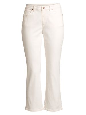 Stretch Crop Flare Jeans