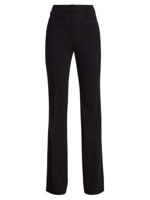 Farrah Stretch-Wool Pants