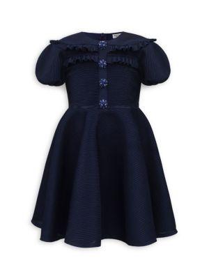 Little Girl's Embellished Fit & Flare Dress