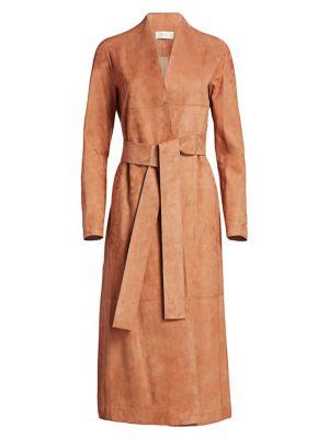 Luisa Suede Coat