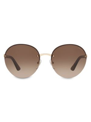 Heritage 61MM Round Sunglasses